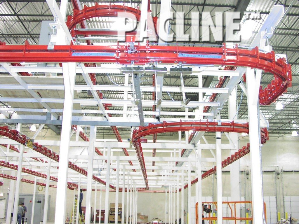 pacline power and free conveyor