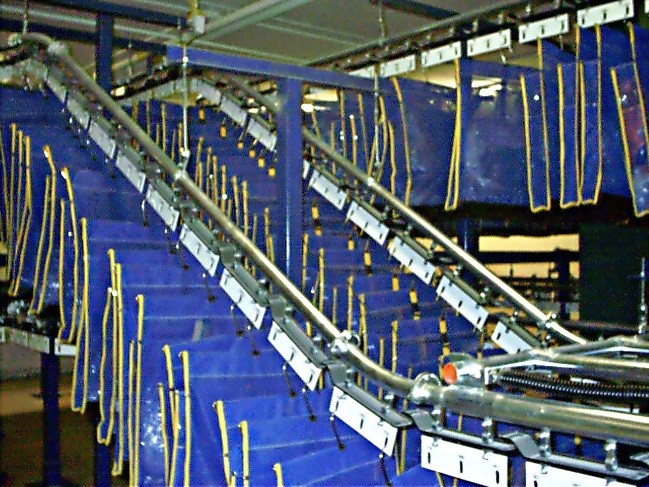 Inmate Property Storage Conveyor