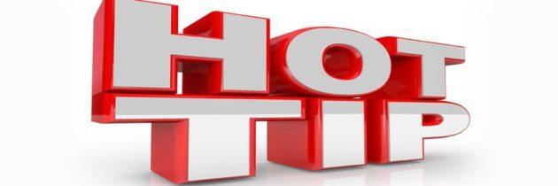 Material Handling Distributors 'Hot' Tip